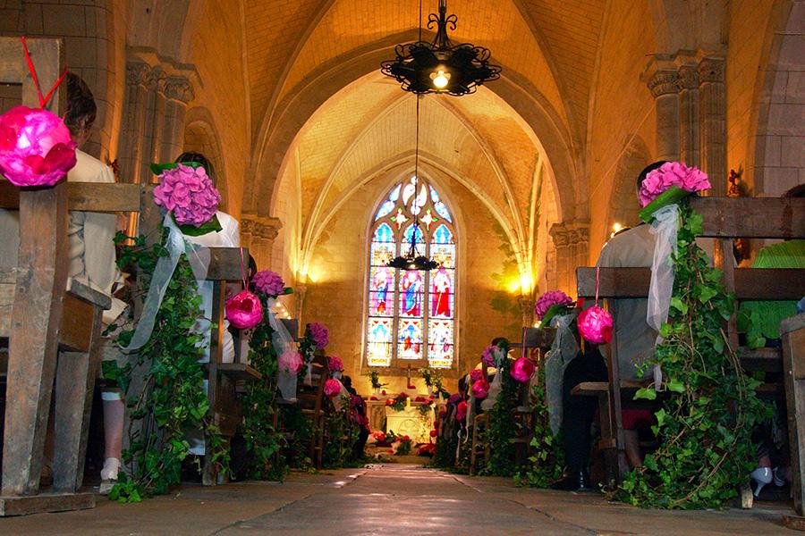 création florale pour les mariages en vendée