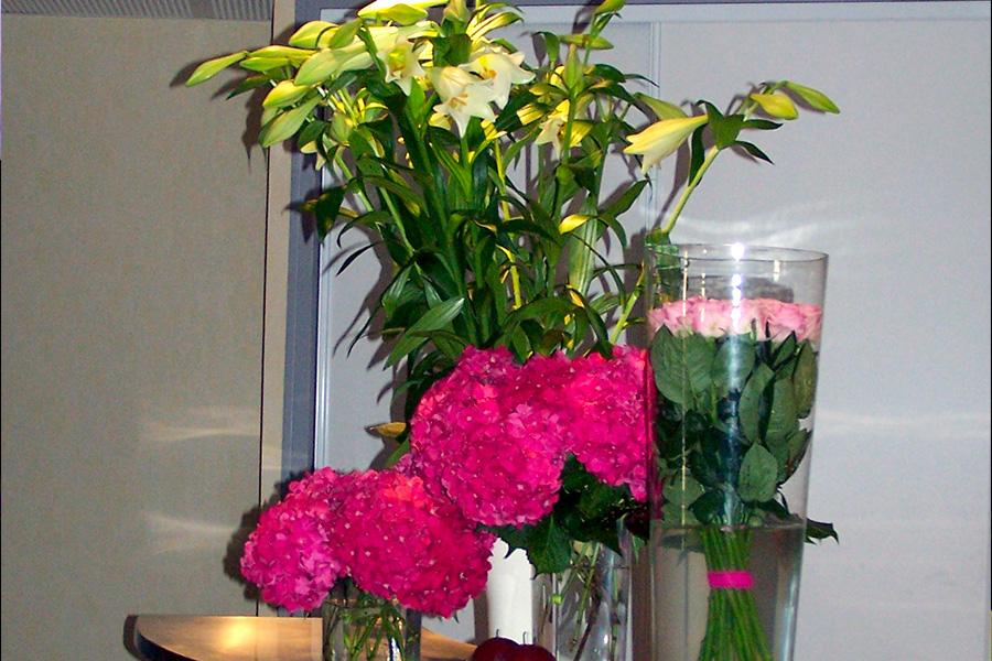 décoration florale pour séminaire en vendée